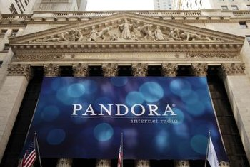 Pandora lets you stream music to your iPhone.