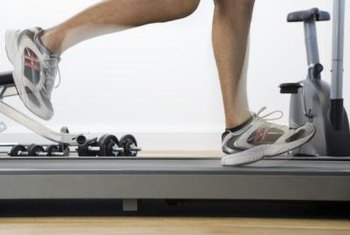 The shock absorbers on a treadmill can give your step a bit of spring.