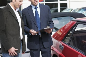 Car salesman can be exempt from minimum wage under certain conditions.