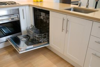 A dishwasher doesn't require a separate plumbing rough-in.