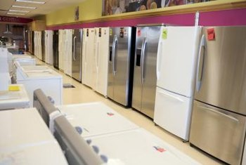 Last year's appliance models are discounted during January.