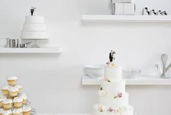 Wedding cakes are only one facet of the cake business.