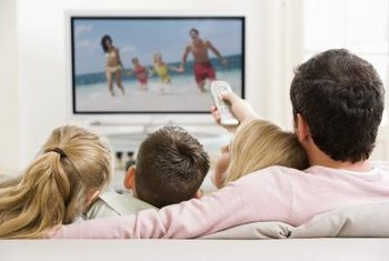 The type and time of TV program determines the market niche.