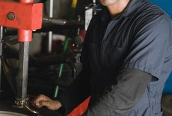 It's up to you as the business owner to ensure that your mechanics follow safety precautions.