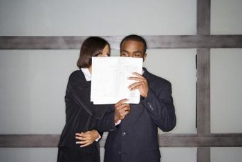 Employers needn't share information about an employee's background check.