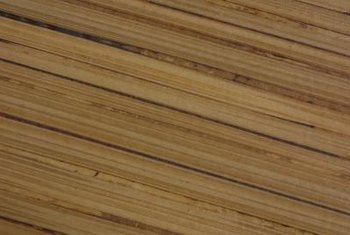 Plywood delamination can occur with exposure to moisture.