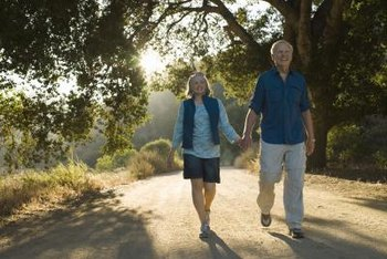 Walking is appropriate for previously sedentary people.