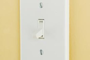 3-way light switches are used to turn a light on or off from two locations.