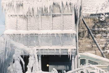 Winterizing a home prepares it to sit empty during the cold winter months.
