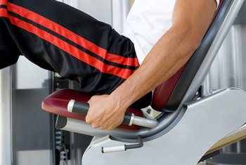 Leg presses don't build as much functional strength as free-weight moves.