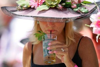 "The Kentucky Derby officially sanctions ""Kentucky Colonel"" spearmint for its mint julep."