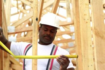 Careers in home building include carpentry and other specialty contracting trades.