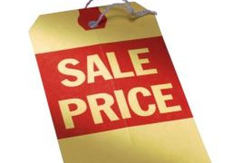 Break-even point analysis helps to calculate a minimum sales price.