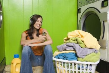 Throw pre-sorted laundry into your washer as the bins get full.