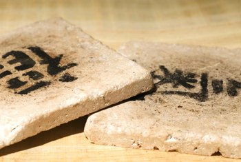 Stone coasters are naturally porous and absorbent.