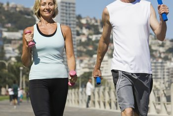 Regular exercise can promote weight loss, even after 50.