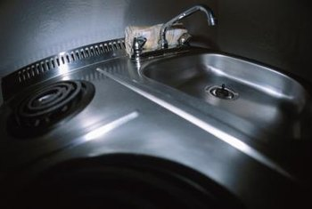 Kitchen drain problems are usually caused by clogs or improperly installed pipes.