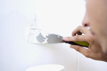 No special skills are required to repair dents in drywall.