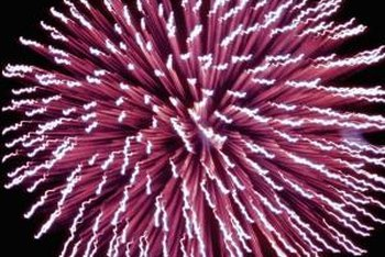Pyrotechnicians design and build fireworks displays.
