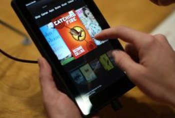 Use your Kindle Fire to view PDF files easily.