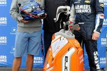 Golf and motor sports both rely on sponsorship revenue.