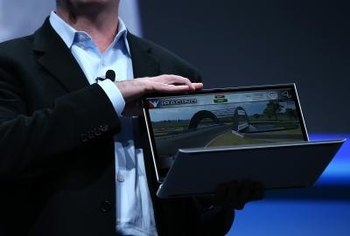 Laptops meeting Intel's Ultrabook specification often include solid-state drives.