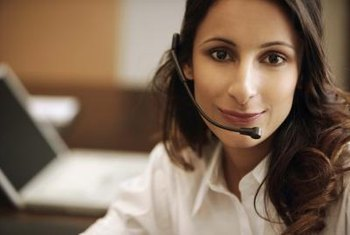 A Bluetooth headset can help you provide customer service online.