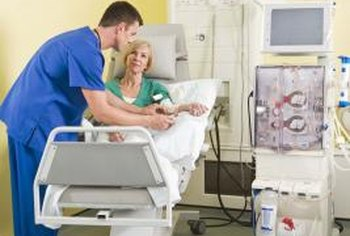 Dialysis technicians work closely with patients and operate sophisticated medical equipment.