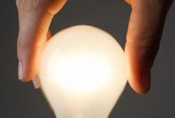 Make sure your light bulbs are dimmable before converting your lamp.
