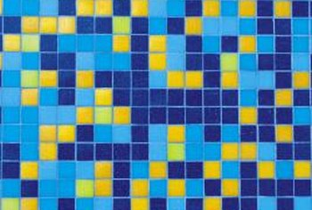 Tile murals can be abstract designs, photo-quality images or even landscapes.