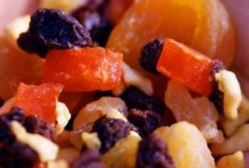 Dried fruit is one way of satisfying your sugar craving while still eating a healthy snack.