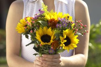 Prevent wilting by placing fresh flowers in water immediately after cutting.