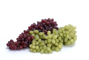 Grapes grow best with full sunlight and good soil drainage.