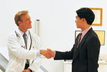 Pharmaceutical senior sales consultants build the trust of their customers.