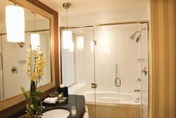 Full bathrooms require more space than most powder rooms.