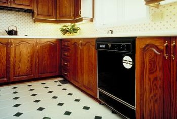 Keep appliances cleaned and maintained to prevent excessive heat that may burn your linoleum.