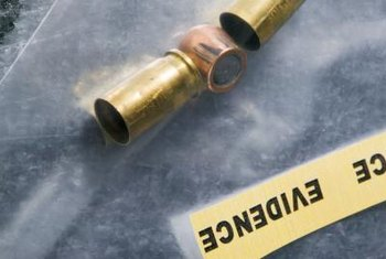 Analyzing shell casings is one of the main duties of a ballistics expert.