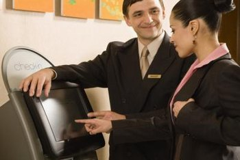 A helpful, courteous attitude is a key quality for a guest services manager.