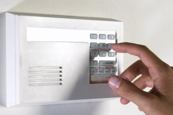 Security system installation technicians frequently install systems in private homes.