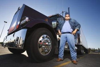 The economy depends on the trucking industry.