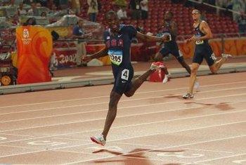 LaShawn Merritt won the 400-meter final at the 2008 Olympics.
