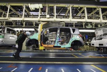 """Just-in-time"" methodology is part of the Toyota Production System."