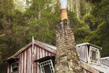 Trees can obstruct your chimney and interfere with updraft.