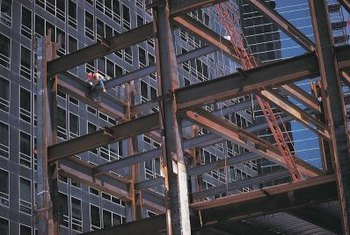 Ironworkers work in all weather, from blazing heat to stinging ice.