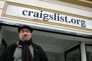 Craigslist allows users to post classified ads within their region.