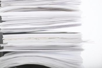 The required documents for ISO 9000 certification might be in paper or electronic form.