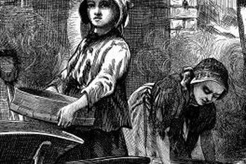 Child labor became a social issue during the Industrial Revolution.