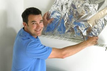 HVAC technicians install and maintain heating ventilation and air conditioning systems.