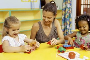 If you enjoy helping and playing with children, a job in child care may be ideal.