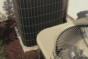 Central air conditioners include equipment that is installed outside of your home.